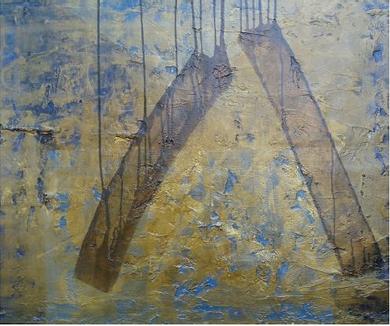 Décembre, Art et Partages… Véronique, artiste peintre soutient ELM !